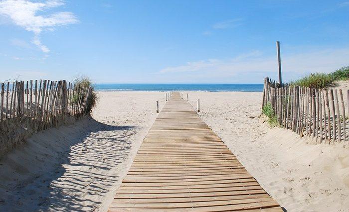 пляжи Нидерландов Берген аан Зей