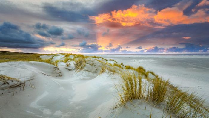 пляжи Нидерландов фото