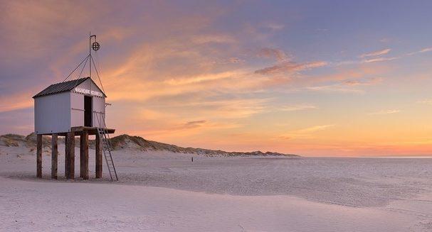 пляжи Нидерландов Терсхеллинг