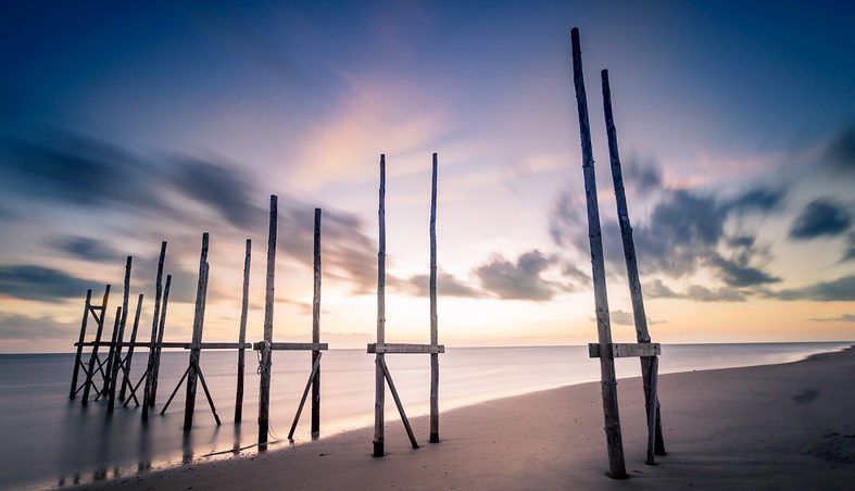 пляжи Нидерландов
