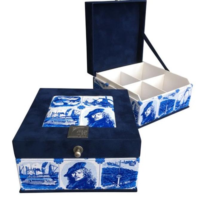 что привезти из амстердама чайная коробка