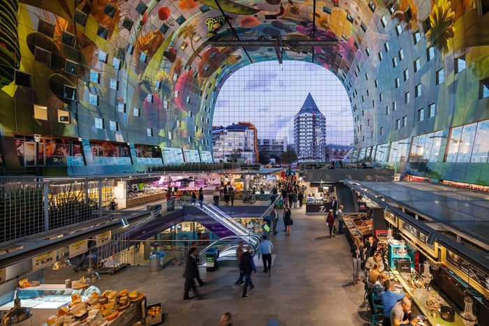 красивые города нидерландов роттердам