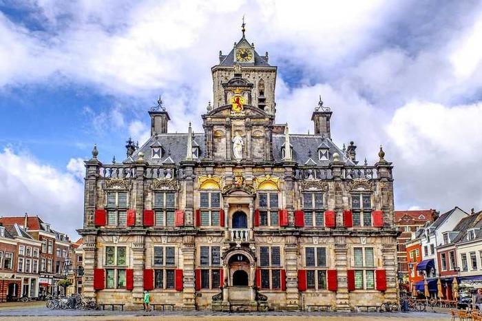 красивые города нидерландов делфт