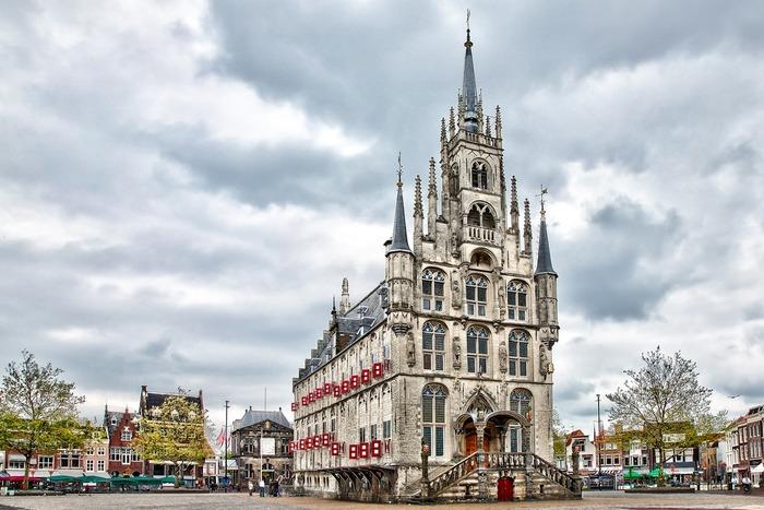 красивые города нидерландов гауда