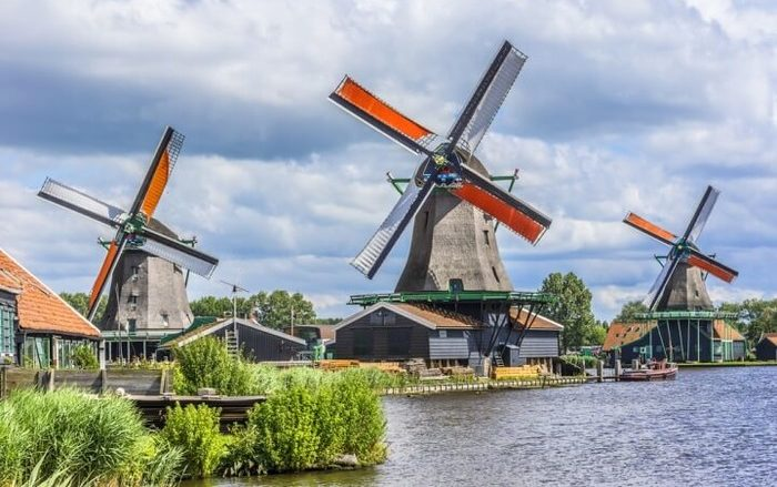 куда поехать из Амстердама Заансе Сханс