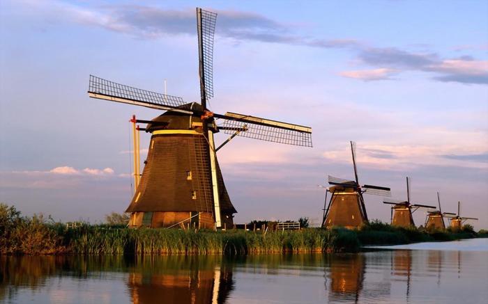 куда поехать из Амстердама Киндердейк