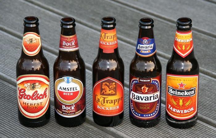 Сувениры из Амстердама пиво