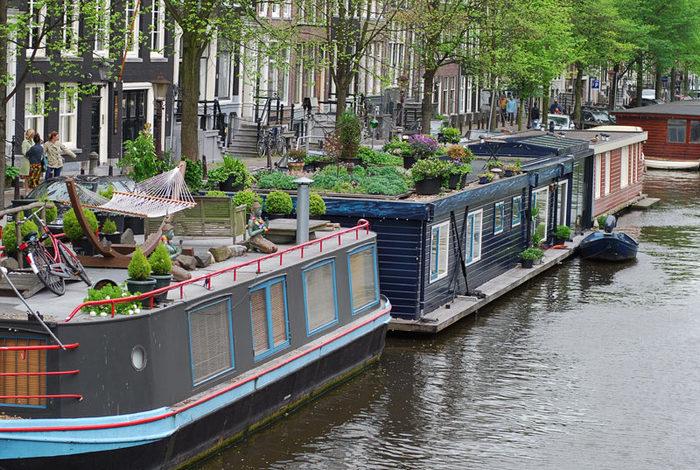 факты об амстердаме хаусботы