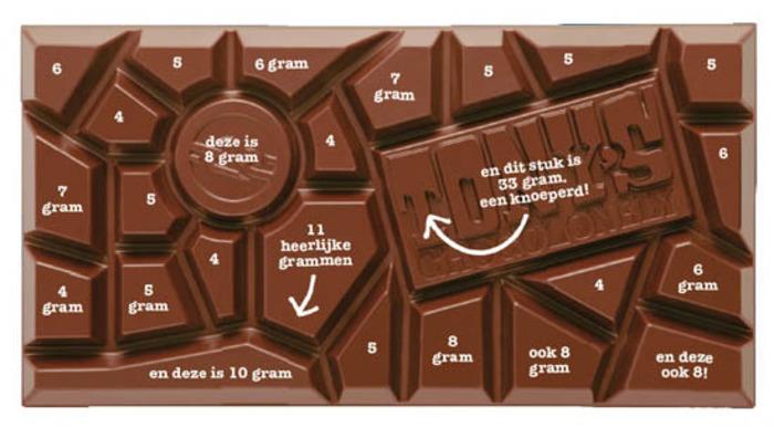 голландский шоколад сколько весит