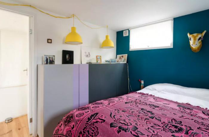 плавучие дома спальня
