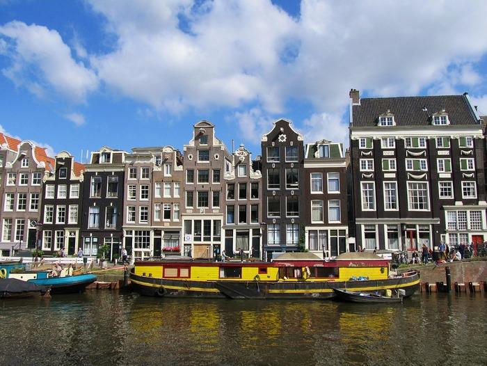 плавучие дома амстердам