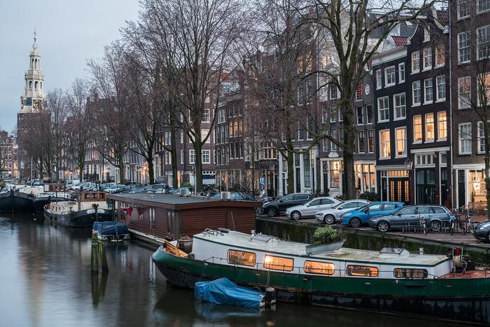 плавучие дома на каналах