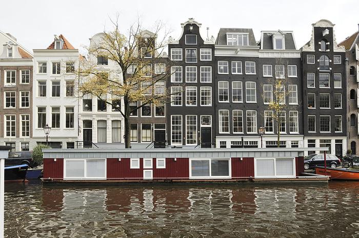 плавучие дома на канале