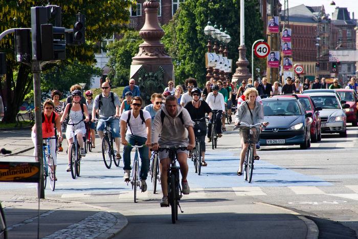 поездка в амстердам велосипедисты