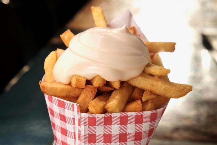 поездка в амстердам картофель фри