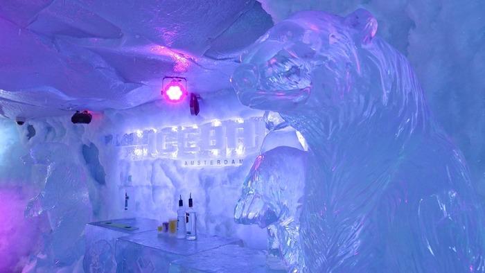 Ice bar интерьер