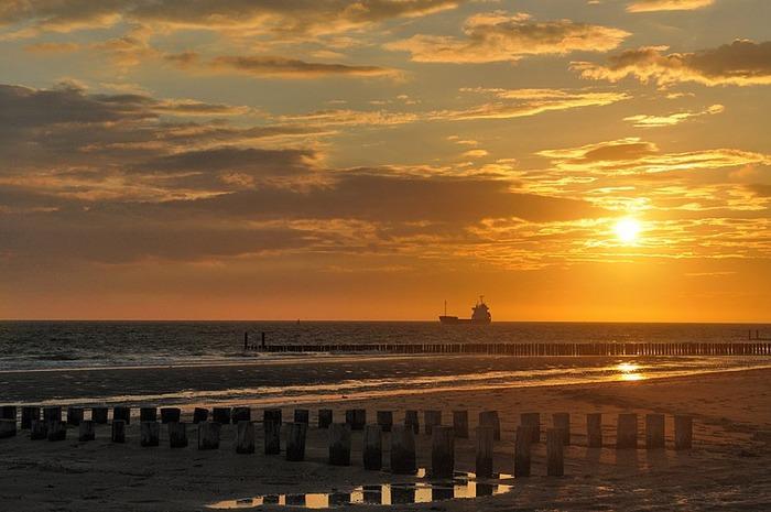 пляжи в нидерландах dishoek