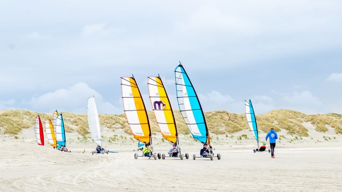 пляжи в нидерландах Ameland