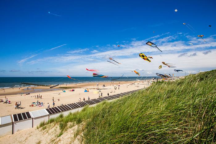 пляжи в нидерландах domburg