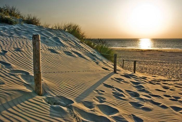пляжи в нидерландах Ouddorp