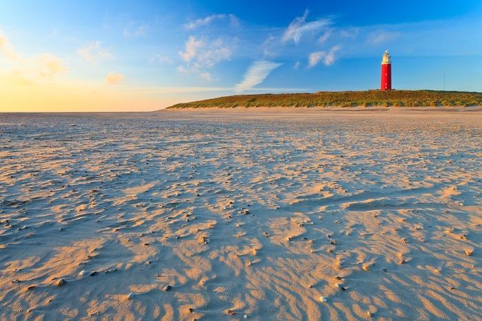 пляжи в нидерландах Texel