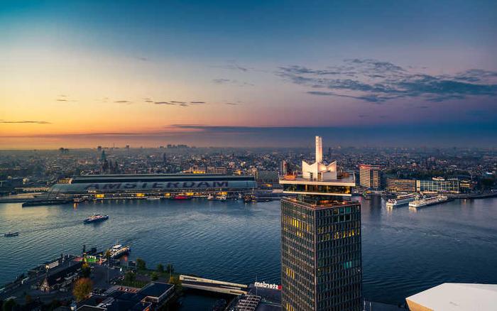 смотровые площадки амстердама Башня A'DAM