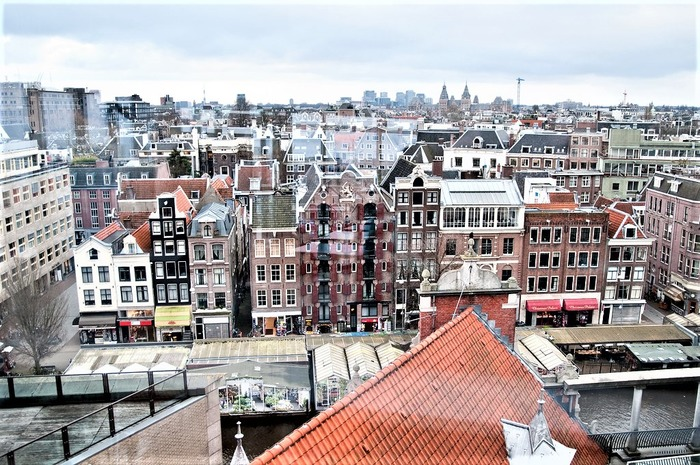 смотровые площадки амстердама кафе Blue Amsterdam