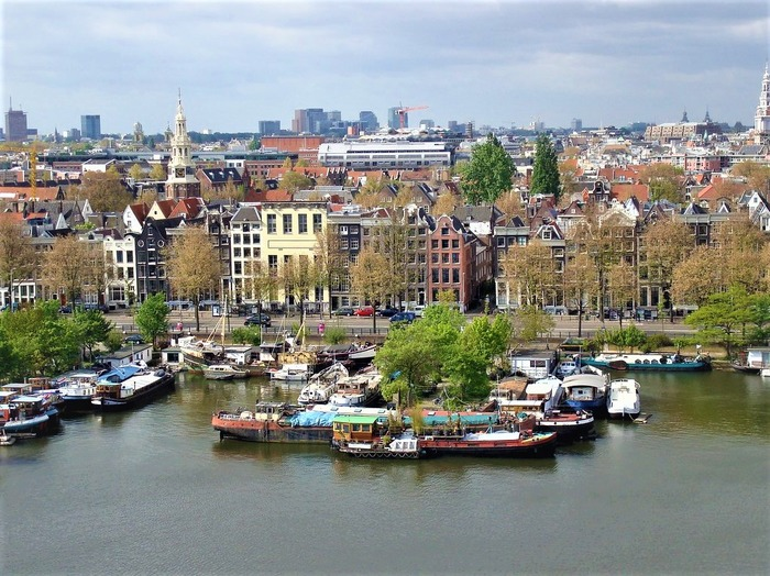 смотровые площадки амстердама Центральная библиотека Амстердама