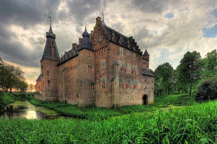 замки нидерландов Доорверт
