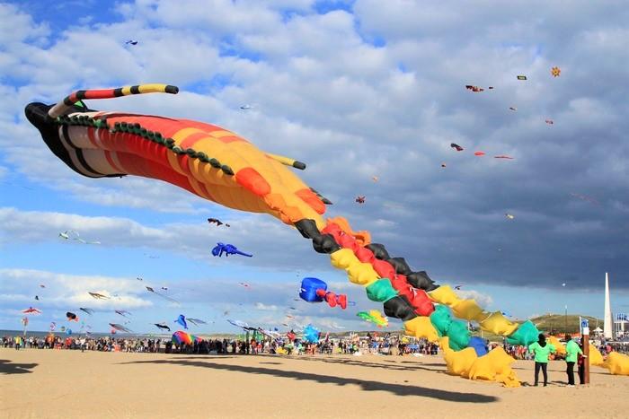 фестиваль воздушных змеев нидерланды