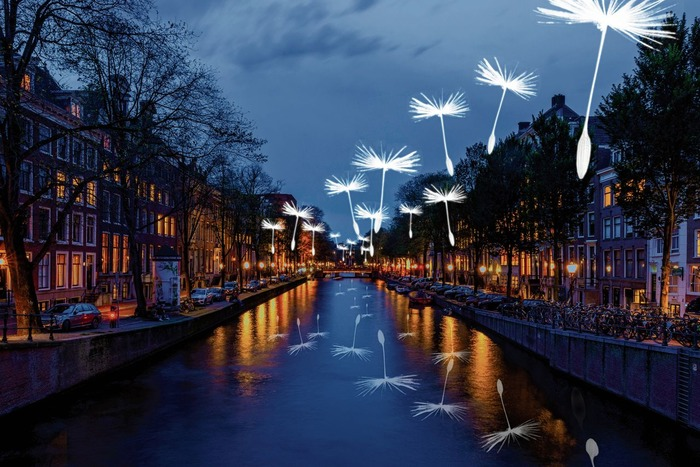 голландия осенью фестиваль света