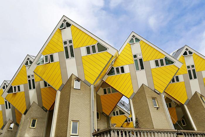 роттердам кубические дома