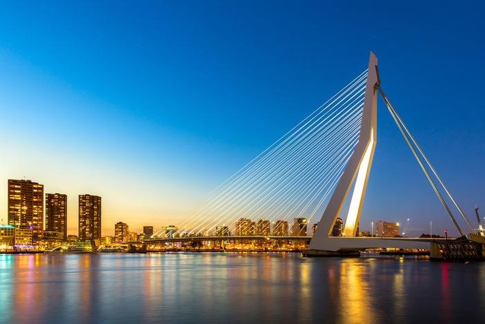 роттердам мост эразма