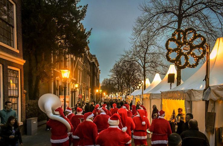 рождественские рынки Дордрехт