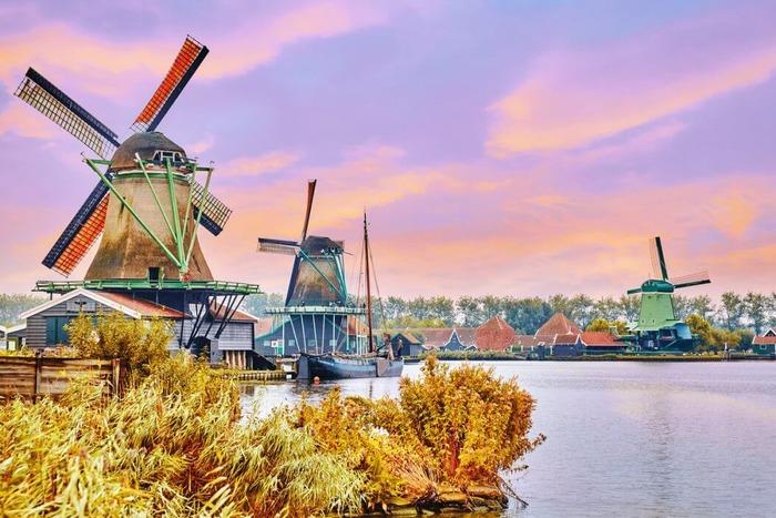 съездить из амстердама Заансе Сханс