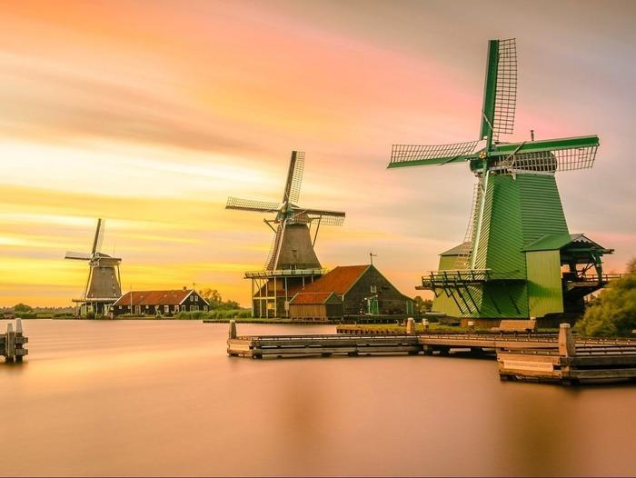 голландские мельницы1 Нидерланды
