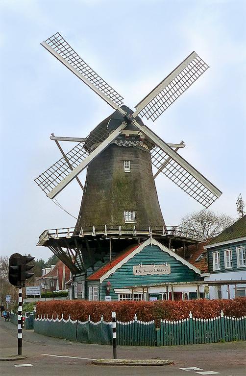 голландские мельницы ветряные