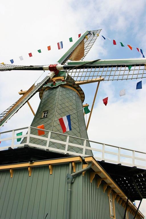 голландские мельницы Alblasserwaard