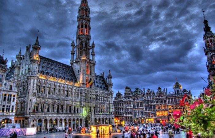Из Амстердама в другие страны_Брюссель
