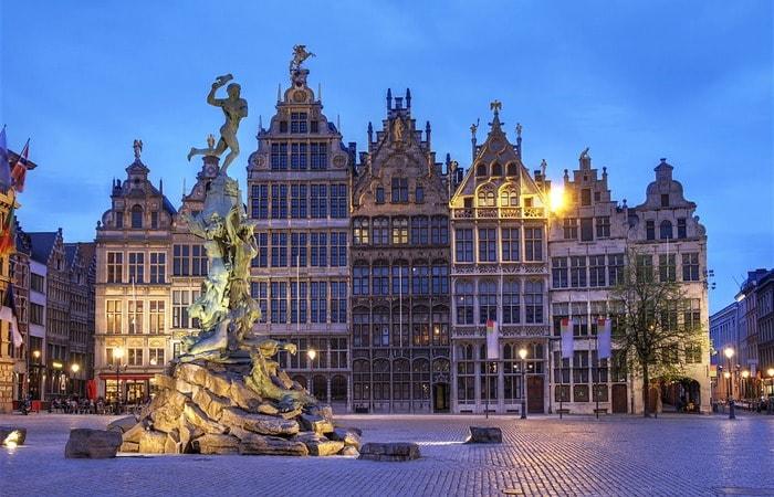 Из Амстердама в другие страны_Антверпен