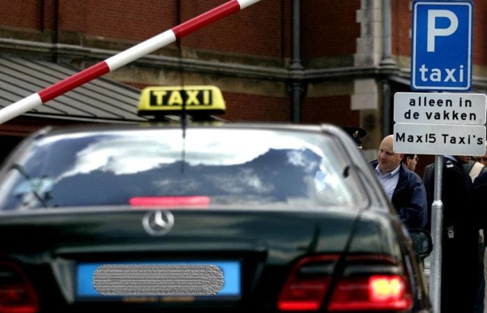 Места в Амстердаме_такси