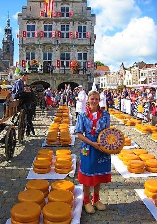 сырные рынки Гауда