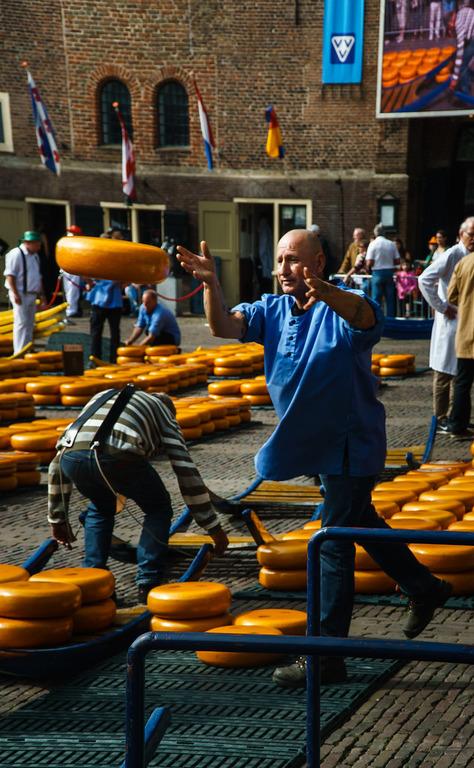 сырные рынки Алкмар