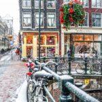 Амстердам зимой