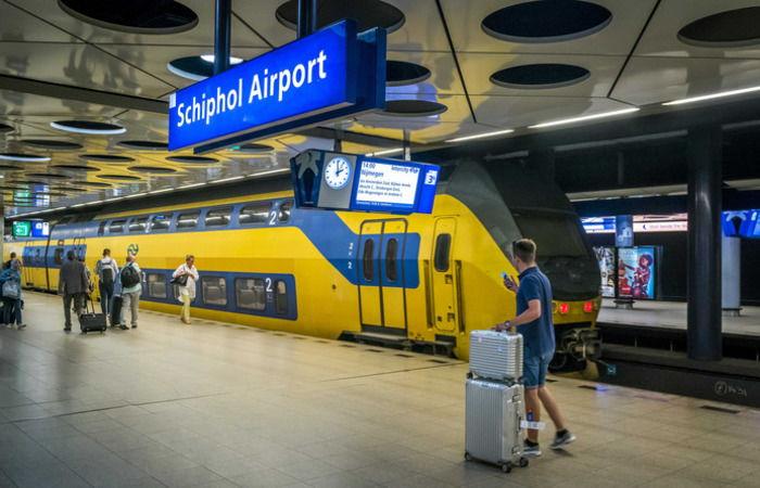 Евровидение 2020-поезда в Схипхол