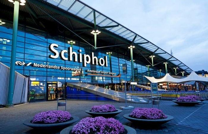 Евровидежние 2020-аэропорт Схипхол