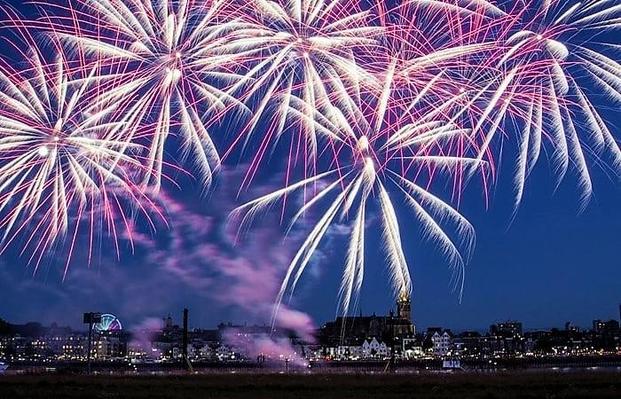 Новый год в Голландии Неймеген