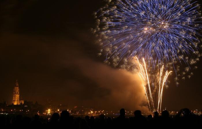 Новый год в Голландии Гронинген