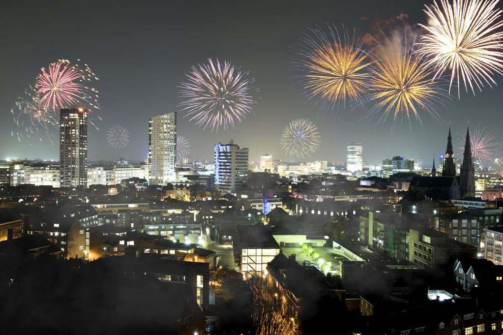 Новый Год в Голландии Эйндховен