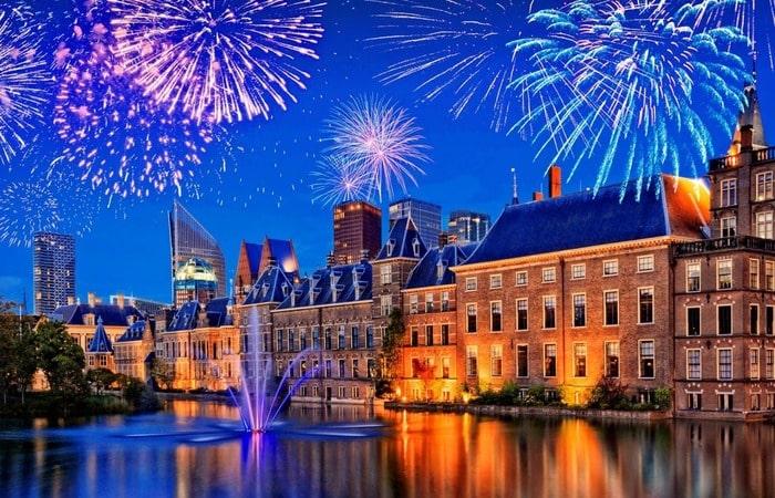 Новый Год в Голландии Гаага